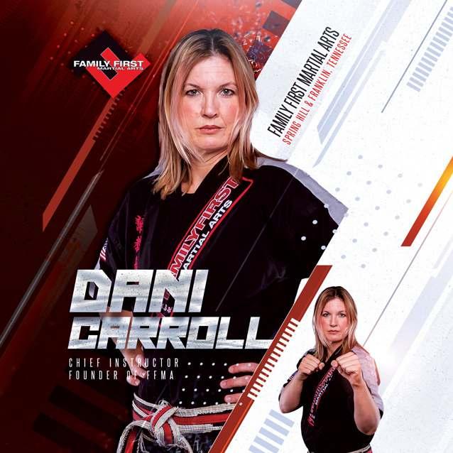 Dani Carroll, Family First Martial Arts in  Spring Hill, TN