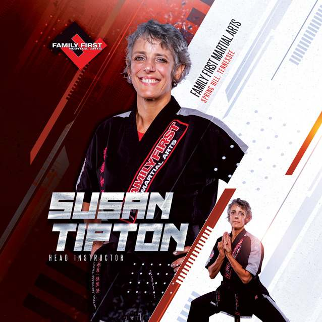 Susan Tipton, Family First Martial Arts in  Spring Hill, TN